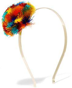 93eeb52674f Rosantica - Guatemala Gold-tone Pompom Headband - one size Fashion  Accessories