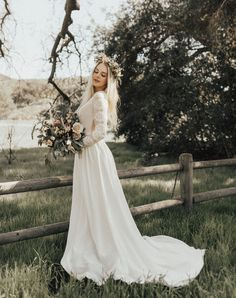 Romantic Boho Wedding Dresses from the Dreamers and Lovers Collection