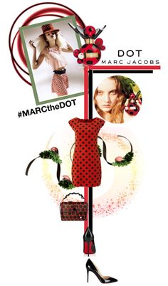 """""""#MARCtheDOT with Marc Jacobs Fragrance"""" by designsbytraci ❤ liked on Polyvore"""