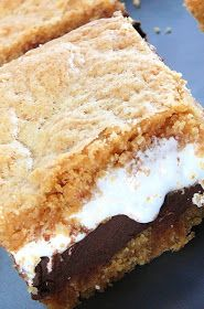 Baked Perfection: S'more Cookie Bars AKA crack-cocaine