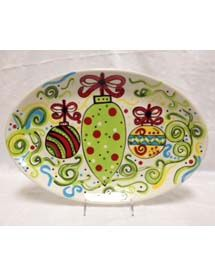 Ornament Ceramic Platter