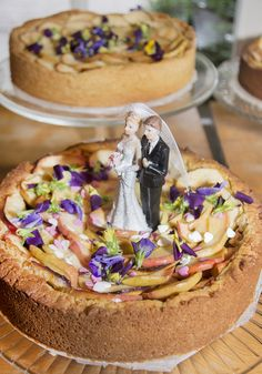 Who doesn't love apple pie! Apple Pie, Acai Bowl, Camembert Cheese, Wedding Cakes, Breakfast, Food, Acai Berry Bowl, Wedding Gown Cakes, Morning Coffee