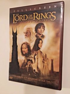 The Lord of the Rings: The Two Towers DVD 2003, 2-Disc Set, Widescreen Two Discs #sale #christmas #blackfriday #ebay #sale #shop #gifts #lordoftherings #thelordoftherings #elijahwood #movies #gifts