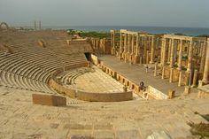 Theatre at Leptis Magna, Libya.