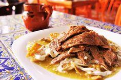 #QuieroComer Chilaquiles verdes de Tlako Teotl. https://www.queremoscomer.rest/restaurantes/comida-mexicana/polanco-anzures/tlako-teotl/?gid=1&pid=5