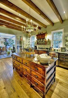 Love the rustic......