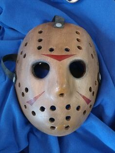 NECA Freddy Vs Jason hockey Mask Friday the 13th RARE Prop Reel Toys Friday The 13th, Carnival, Hockey, Halloween Face Makeup, Horror, Mardi Gras, Ice Hockey, Rocky Horror, Field Hockey