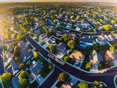 Aerial photo taken with the DJ Phantom, an RC helicopter that is strong enough to lift a GoPro Hero 3 camera. Improve Photography, Aerial Photography, Photography Tips, Real Estate Photographer, Hero 3, Moving Tips, Rc Helicopter, Gopro Hero, Light Painting
