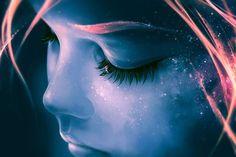 """Não é difícil adivinhar qual o """"outro"""" trabalho do ilustrador digital francês Cyril Rolando, também conhecido como Aquasixio. As imagens intensamente metafóricas, a interação visceral entre seres humanos e forças da natureza em seus desenhos, e os sentidos profundos que cada detalhe de seus desenhos digitais parece oferecer não nos pe..."""