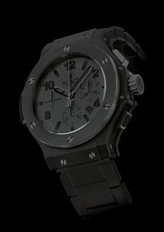 All black Hublot