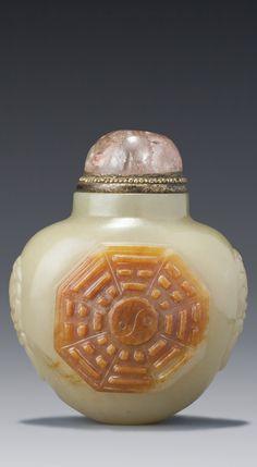 Jade Snuff Bottle - Qing Dynasty