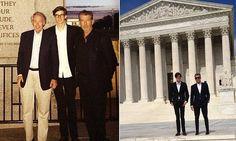 Pierce Brosnan's son Dylan Thomas is interning in senator's office