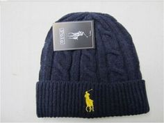 2015 POLO Blue Wool Casual Beanie Hat Cap for Men Women USA Seller FREE Shipping