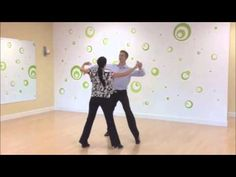 Foxtrot Sway Step with Underarm Turn - YouTube