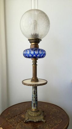 Check out this item in my Etsy shop https://www.etsy.com/listing/550906262/cloisonne-lamp-antique-bronze-lamp-with