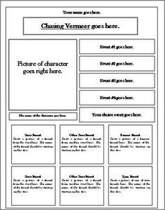 Chasing Vermeer By Blue Balliett Facebook Activity