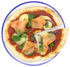 Pizza night at your place? Try this new topping featuring smoked salmon. Recipe by Tassal.