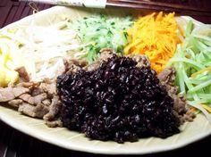 """Chinese Black Rice or Forbidden Rice. Photo by """"Ratalouille"""""""
