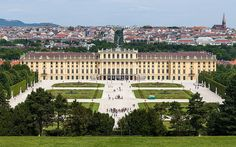 UNESCO World Heritage Site-Palace and Gardens of Schönbrunn,Vienna