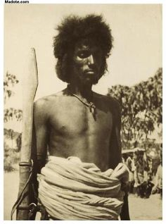 Eritrean man from Barka valley- Agordat, Eritrea. Photo was taken in 1936. For more information about the person(s) you are seeing in these old Eritrean photos, then visit www.madote.com