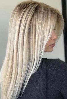 Information for all our beautiful blond women 💛💛💛 A new line of hair c. - - Information for all our beautiful blond women 💛💛💛 A new line of hair care products. Available in Brochure on page 200 🎉🎉 ✔️ Advance Techniques Col. Blonde Hair Looks, Ash Blonde Hair, Blonde Balayage, Blonde Highlights, Ombre Hair, Bright Blonde Hair, Blonde Hair Care, Blonde Dye, Beautiful Blonde Hair