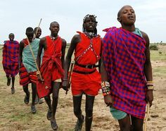 maasai traditional dress - Google Search