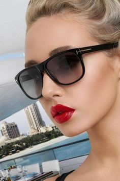 Many colors, shapes, and sizes in the latest Tom Ford sunglasses. Get them at Sole Mates!