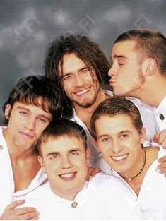 """""""did anyone say pride month ? oh well i know just the band for that"""" Take That Band, Howard Donald, Jason Orange, Mark Owen, Gary Barlow, Robbie Williams, British Boys, Sweet Memories, Seville"""