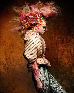 A Work of Art by Mark van Westerop @ Pro-Solo Crazy Hair, Big Hair, Your Hair, Fancy Hairstyles, Creative Hairstyles, Fashion Photography Inspiration, Hair Inspiration, Avant Garde Hair, Editorial Hair