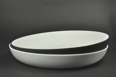 porcelain tableware black and white, pure, handmade, hande made by artdentity