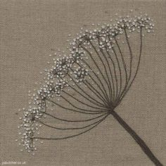 Fennel on Linen...isn't this beautiful!