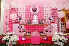 decoracion de la minnie rosa - Buscar con Google