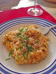 Risotto mit Kürbis und Bratwurst, ein schmackhaftes Rezept aus der Kategorie Gemüse. Bewertungen: 9. Durchschnitt: Ø 3,9.