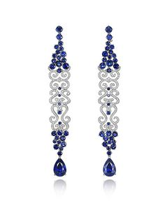 Chopard High Jewelry - Saphirs and Diamonds