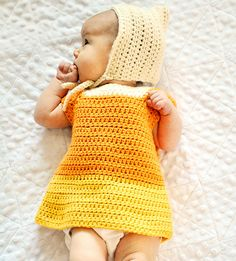698bf9ed393 Crochet Patterns Galore - Baby Candy Corn Costume