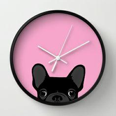French Bulldog Wall Clock