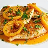 Lipton Recipe Secrets: Golden Lemon Chicken by Jennifer Cush