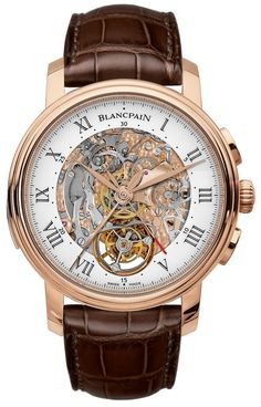 Blancpain Carrousel Minute Repeater Chronograph: First Watch With All Three Complications Together | Raddest Men's Fashion Looks On The Internet: http://www.raddestlooks.org