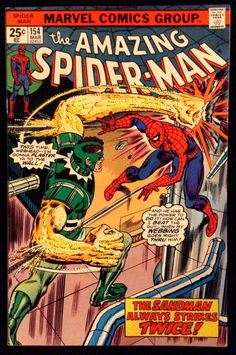 Lot Detail - The Amazing Spider-Man Marvel Comics (Featuring Gil Kane and John Romita Cover/Art; Archie Goodwin and Len Wein Stories) Marvel Girls, Marvel Dc Comics, Deathstroke, Marvel Comic Books, Comic Books Art, Comic Art, Book Art, Comic Superheroes, Marvel Characters
