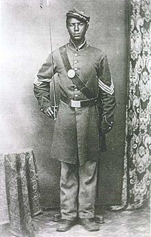 Andrew Jackson Smith (September 3, 1843 – March 4, 1932) was a Union Army soldier during the American Civil War and a recipient of America's highest military decoration the Medal of Honor for his actions at the Battle of Honey Hill.