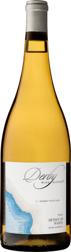 """This 2010 vintage of the """"Fifteen 10"""" White Rhône blend from Paso Robles is a delicious wine that over delivers in flavor and complexity. A blend of 34% Roussanne, 27% Viognier, 21% Marsanne, 9% Grenache Blanc, 9% Picpoul Blanc, this wine offers aromas of Barlett pear, lemon zest, and honeysuckle, and flavors of grapefruit, granny smith apple and wet stone. Buy Now  http://shrsl.com/?e6cs"""