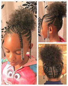 Natural Hair Kid Hairstyles Black Hairstyles Hair Styles Hair