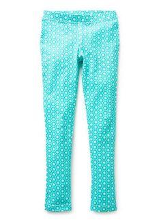 Girls Pants & Leggings | Geo Print Legging | Seed Heritage