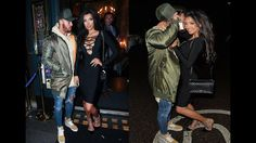 Chloe Khan Date with Ashley Cain In PDA - 2016