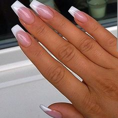 Latest French Nail Designs for Pretty Girls 2016   Fashionte