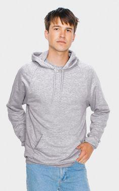 a5464992a5 American Apparel 5495W - Unisex California Fleece Pullover Hooded Sweatshirt