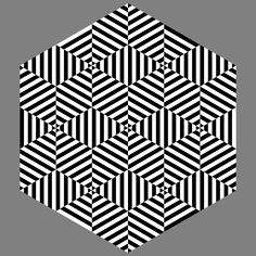 Dizzy hexagon by 10binary