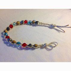 Hemp chord bohemian bracelet.