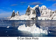Pictures of Antarctic icebergs in the snow csp5574798 -  Search Stock Photos, Images, Photographs, and Photo Clip Art