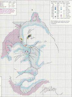 Схемы котов крестом